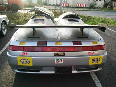 Italdesign Aztec from the rear